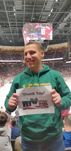 Jeffrey attended Arizona Coyotes vs. Columbus Blue Jackets - NHL on Feb 7th 2019 via VetTix