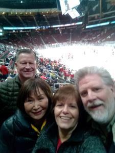 Richard attended Arizona Coyotes vs. Columbus Blue Jackets - NHL on Feb 7th 2019 via VetTix