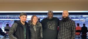 Alonzo (AJ) attended Arizona Coyotes vs. Columbus Blue Jackets - NHL on Feb 7th 2019 via VetTix