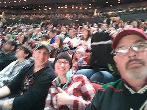 Caleb attended Arizona Coyotes vs. Columbus Blue Jackets - NHL on Feb 7th 2019 via VetTix