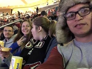 Jerry attended Arizona Coyotes vs. Columbus Blue Jackets - NHL on Feb 7th 2019 via VetTix