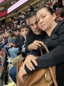 Jorge attended Arizona Coyotes vs. Columbus Blue Jackets - NHL on Feb 7th 2019 via VetTix