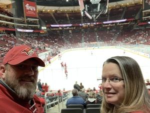 Lonnie attended Arizona Coyotes vs. Columbus Blue Jackets - NHL on Feb 7th 2019 via VetTix