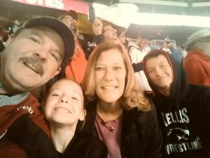travis attended Arizona Coyotes vs. Columbus Blue Jackets - NHL on Feb 7th 2019 via VetTix