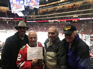 Ronald attended Arizona Coyotes vs. Columbus Blue Jackets - NHL on Feb 7th 2019 via VetTix