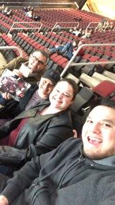 John attended Arizona Coyotes vs. Columbus Blue Jackets - NHL on Feb 7th 2019 via VetTix