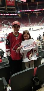 Gary attended Arizona Coyotes vs. Columbus Blue Jackets - NHL on Feb 7th 2019 via VetTix