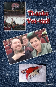 Ryan attended Arizona Coyotes vs. Columbus Blue Jackets - NHL on Feb 7th 2019 via VetTix
