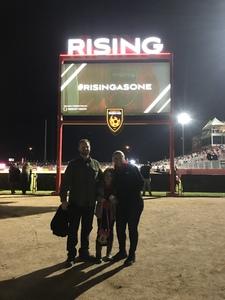 Michael attended 2019 Mobile Mini Sun Cup - Phoenix Rising vs. Sporting Kansas City on Feb 7th 2019 via VetTix
