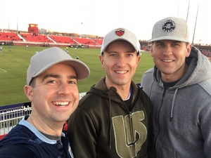 Phillip attended 2019 Mobile Mini Sun Cup - Phoenix Rising vs. Sporting Kansas City on Feb 7th 2019 via VetTix