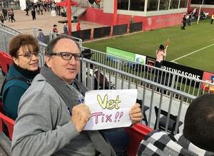 Donald attended 2019 Mobile Mini Sun Cup - Phoenix Rising vs. Sporting Kansas City on Feb 7th 2019 via VetTix