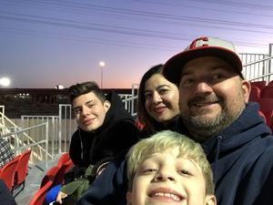 Kaz attended 2019 Mobile Mini Sun Cup - Phoenix Rising vs. Sporting Kansas City on Feb 7th 2019 via VetTix