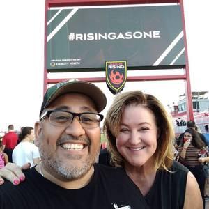 RO attended 2019 Mobile Mini Sun Cup - Phoenix Rising vs. Sporting Kansas City on Feb 7th 2019 via VetTix