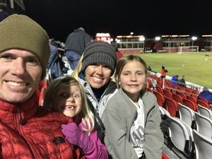 JARRED attended 2019 Mobile Mini Sun Cup - Phoenix Rising vs. Sporting Kansas City on Feb 7th 2019 via VetTix