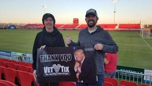 Joseph attended 2019 Mobile Mini Sun Cup - Phoenix Rising vs. Sporting Kansas City on Feb 7th 2019 via VetTix