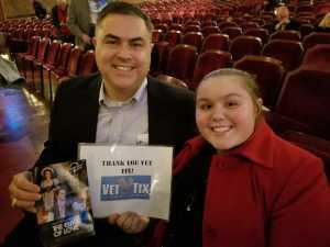 Scott attended The Elixir of Love - Presented by the Virginia Opera on Feb 22nd 2019 via VetTix