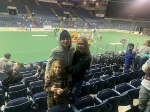 Ryan attended Stockton Rush vs. Ontario Fury II - MASL 2 on Feb 15th 2019 via VetTix