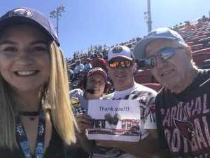 Jason attended TicketGuardian 500 NASCAR - ISM Raceway - Sunday Only on Mar 10th 2019 via VetTix