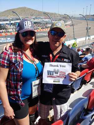 John Paul attended TicketGuardian 500 NASCAR - ISM Raceway - Sunday Only on Mar 10th 2019 via VetTix
