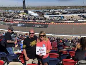 Cheryl attended TicketGuardian 500 NASCAR - ISM Raceway - Sunday Only on Mar 10th 2019 via VetTix