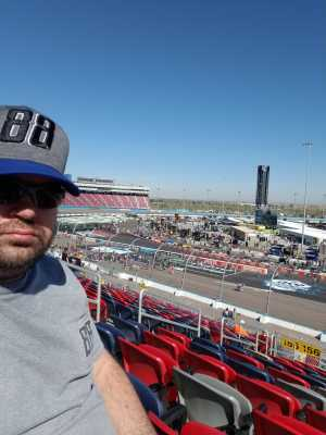 Chris attended TicketGuardian 500 NASCAR - ISM Raceway - Sunday Only on Mar 10th 2019 via VetTix