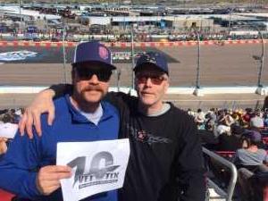 Nicholas attended TicketGuardian 500 NASCAR - ISM Raceway - Sunday Only on Mar 10th 2019 via VetTix
