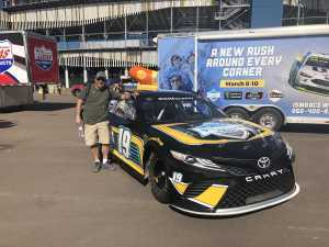 John attended TicketGuardian 500 NASCAR - ISM Raceway - Sunday Only on Mar 10th 2019 via VetTix