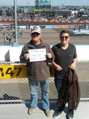 Richard attended TicketGuardian 500 NASCAR - ISM Raceway - Sunday Only on Mar 10th 2019 via VetTix