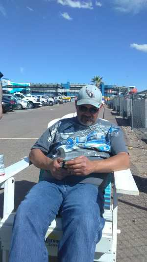 Daryl attended TicketGuardian 500 NASCAR - ISM Raceway - Sunday Only on Mar 10th 2019 via VetTix