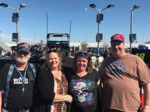 Floyd attended TicketGuardian 500 NASCAR - ISM Raceway - Sunday Only on Mar 10th 2019 via VetTix