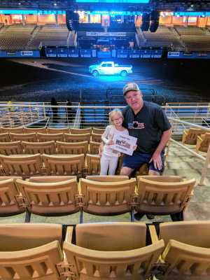 David attended Ram National Circuit Finals Rodeo - National Patriot Day on Mar 22nd 2019 via VetTix