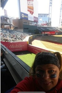 michelle attended 19th Annual Celebrity Flag Football Challenge - * See Notes! on Feb 2nd 2019 via VetTix