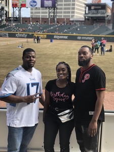 Miraclle attended 19th Annual Celebrity Flag Football Challenge - * See Notes! on Feb 2nd 2019 via VetTix