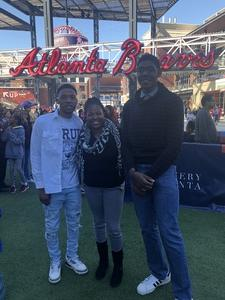 felicia attended 19th Annual Celebrity Flag Football Challenge - * See Notes! on Feb 2nd 2019 via VetTix
