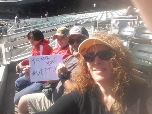 Rick attended 19th Annual Celebrity Flag Football Challenge - * See Notes! on Feb 2nd 2019 via VetTix