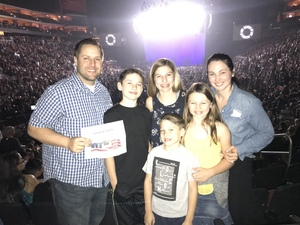 Cody attended Kelly Clarkson: Meaning Of Life Tour on Feb 1st 2019 via VetTix