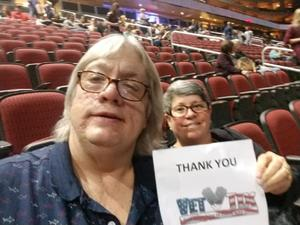 Patrick attended Kelly Clarkson: Meaning Of Life Tour on Feb 1st 2019 via VetTix