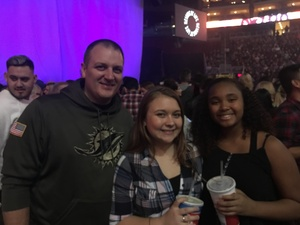 Bud attended Kelly Clarkson: Meaning Of Life Tour on Feb 1st 2019 via VetTix