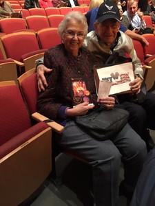 Thomas attended The Phoenix Symphony - Broadway and Beyond with Matt Doyle on Feb 9th 2019 via VetTix