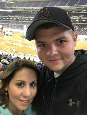 Cody attended Monster Energy Supercross - Motorsports/racing on Mar 16th 2019 via VetTix