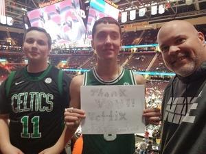 bryan attended Cleveland Cavaliers vs. Boston Celtics - NBA on Feb 5th 2019 via VetTix