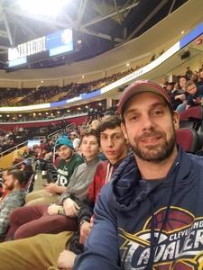 Thomas attended Cleveland Cavaliers vs. Boston Celtics - NBA on Feb 5th 2019 via VetTix