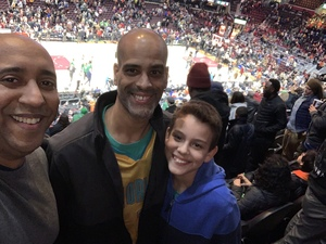 Ruben attended Cleveland Cavaliers vs. Boston Celtics - NBA on Feb 5th 2019 via VetTix