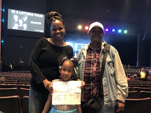 Denise attended Disney's Dcappella - Other on Feb 2nd 2019 via VetTix