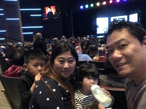 tsz yeung attended Disney's Dcappella - Other on Feb 2nd 2019 via VetTix