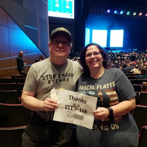 John attended Disney's Dcappella - Other on Feb 2nd 2019 via VetTix