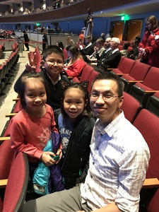 Haizu attended Disney's Dcappella - Other on Feb 2nd 2019 via VetTix