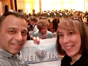 Michael attended Broadway and Beyond with Matt Doyle on Feb 10th 2019 via VetTix