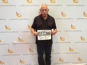 RONALD attended Broadway and Beyond with Matt Doyle on Feb 10th 2019 via VetTix