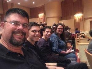 David attended Broadway and Beyond with Matt Doyle on Feb 10th 2019 via VetTix